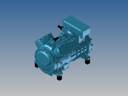 Compressor Frascold series Q