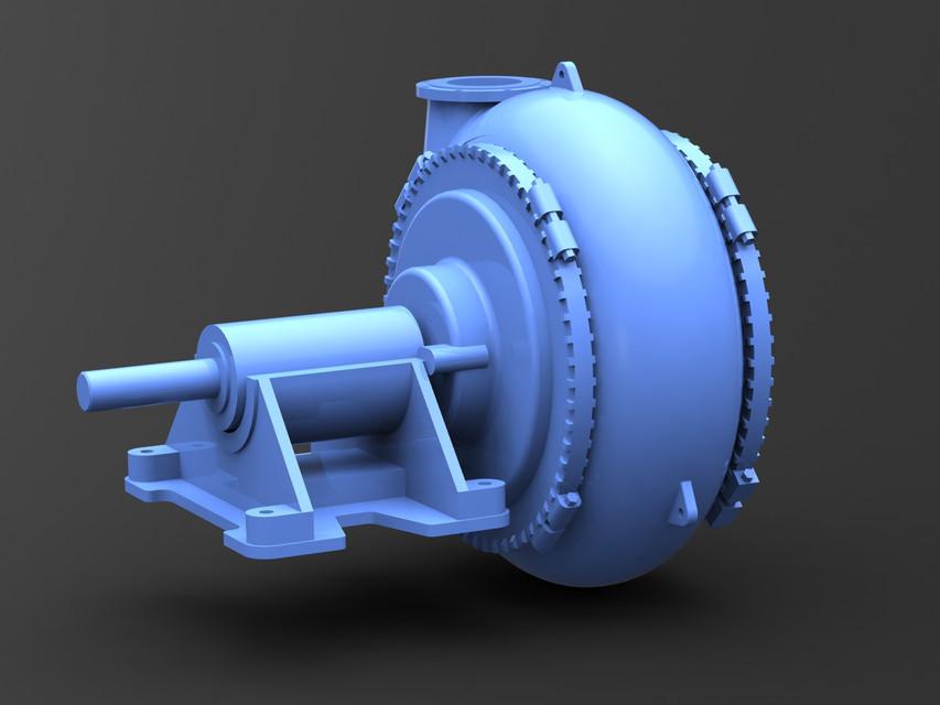 Warman 10/8 GH | 3D CAD Model Library | GrabCAD