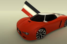 Sport Car (STEP Files)