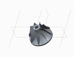 radial impeller