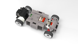 Kyosho Mini-Z MR01 chassis