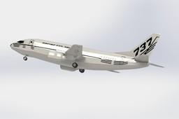 Boeing 737-300,Plane