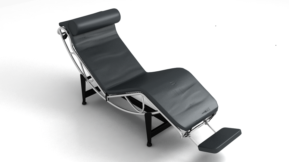 Awe Inspiring Rest Chair 3D Cad Model Library Grabcad Download Free Architecture Designs Philgrimeyleaguecom
