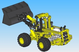Lego Technic 8464 Front-End Truck