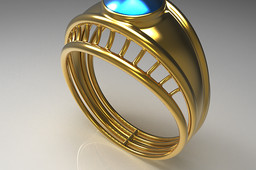 Golden Bridge Ring