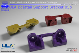 ULA Boattail Support Bracket 05b
