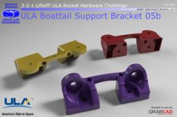 ULA Boattail Support Bracket 05b