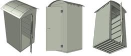 Sanitário móvel Polipropileno