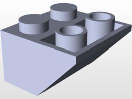 4x4 Reverse Slant LEGO