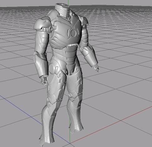 Iron Man 3d Model Tutorial Iron Man mk 3 Suit 3d Scan