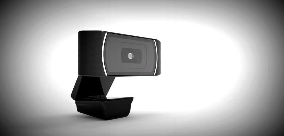 Logitech C910 Webcam 3d Cad Model Library Grabcad