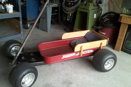 Hot Rod Radio Flyer