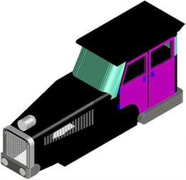 Diesel Shunt Engine