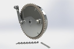 Drum Brake Assembly and Sprocket