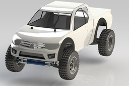 Tamiya Special Racing Buggy and TT-01 Renders RC Models