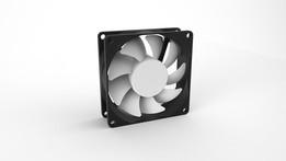 80x80x25mm Fan