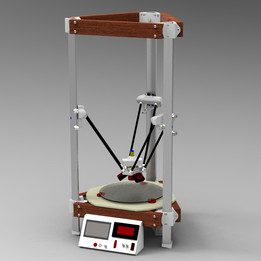 Q*Bot - Opensource and ultra affordable Delta 3D Printer