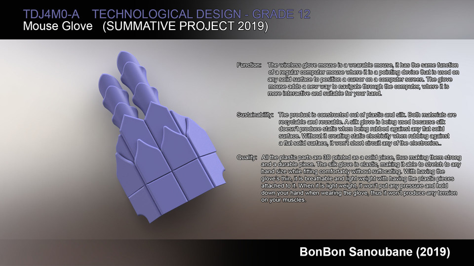 Wireless Mouse Glove | 3D CAD Model Library | GrabCAD