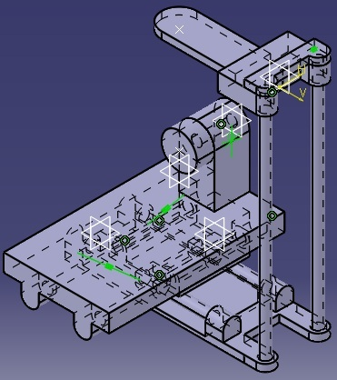 Tutorial: Modelling a 4 axis CNC assembly in CATIA V5