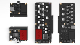 XFX PCM and TCM motherboard for smartphones/tablets or other small devices