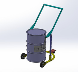 Barrel cart