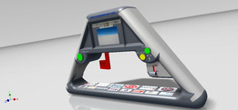 Bloodhound SSC Steering Wheel-EM-2