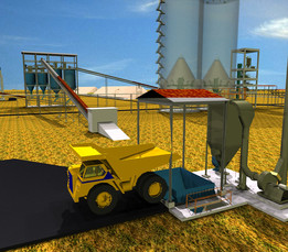 2. Raw Mill-Hoppers (Cement Plant)