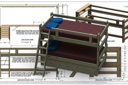 Bunk Bed Twin/Twin 20-060