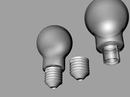 Light Sensor Enclosure Light bulp