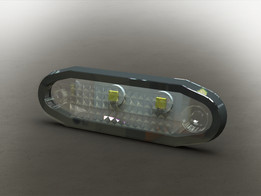 LED spot integrated
