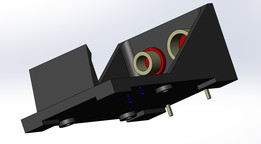 battary holder BH9V-PC-ND