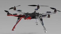 DJI F450/550 Landing Gear System V2