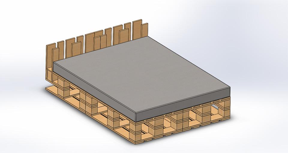 europalet bed solidworks 3d cad model grabcad - Europalets