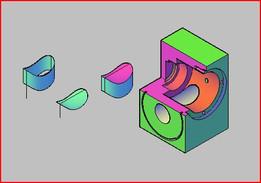 rotary actuator part1 3D design