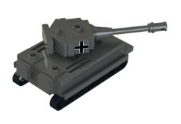 Lego Mini Tiger 1 Tank