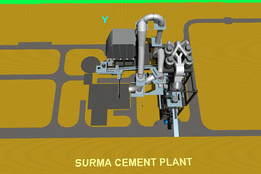 Surma Cement Plant-Raw Mill & ESP.
