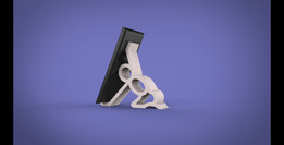 phone stand- 3D printable