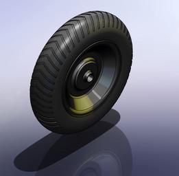 """Roda 8"""" Carrinho de mão (Wheel barrow)"""