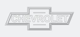 Chevy logo 2D