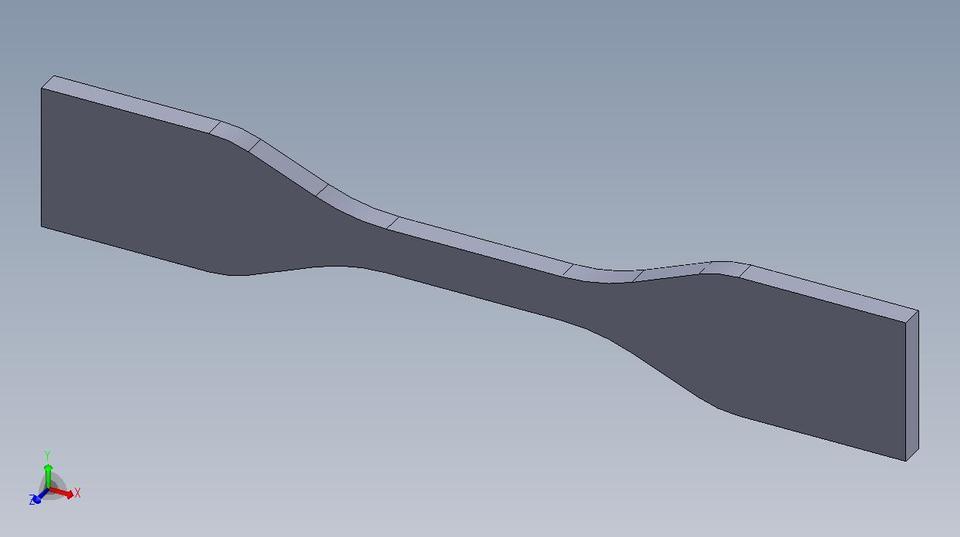 ASTM D638-10 Type IV Tensile Specimen