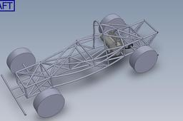 Short wheel base high aero chassis with 1300cc powerplant