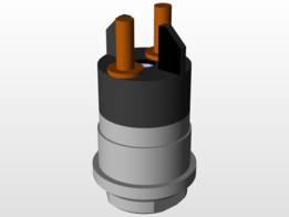 Solenoid for injector