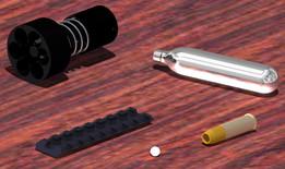 Accessoires pour Dan Wesson 6mm ASG 8p. - Accessories for Dan Wesson 6mm 8p. ASG