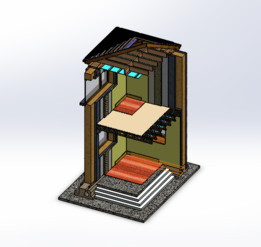 Passive House Cross Section