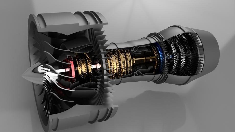 turbofan - Recent models   3D CAD Model Collection   GrabCAD