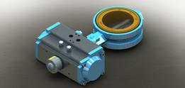 RTS butterfly valve 3'' mod RAT063