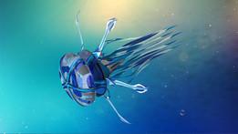 Aurelia Aurita aka JellyFish Long Range Deep Sea Probe Concept