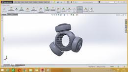 Inner tripod bearing