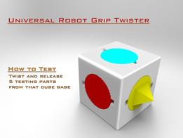 Universal Robot Grip Twister