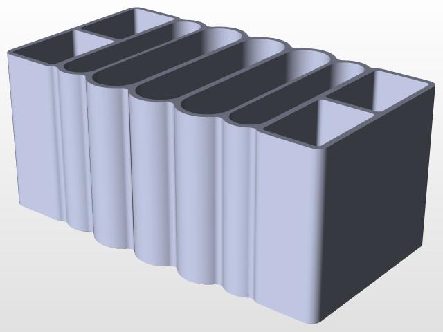 Battery Storage Box W/Lid | 3D CAD Model Library | GrabCAD